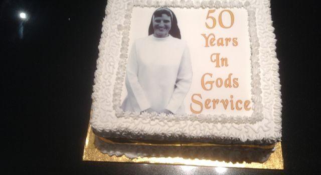 Sister Judith Robinson celebrates 50th Jubilee