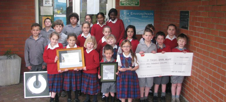 St Teresa's School Bluff wins Environmental Award