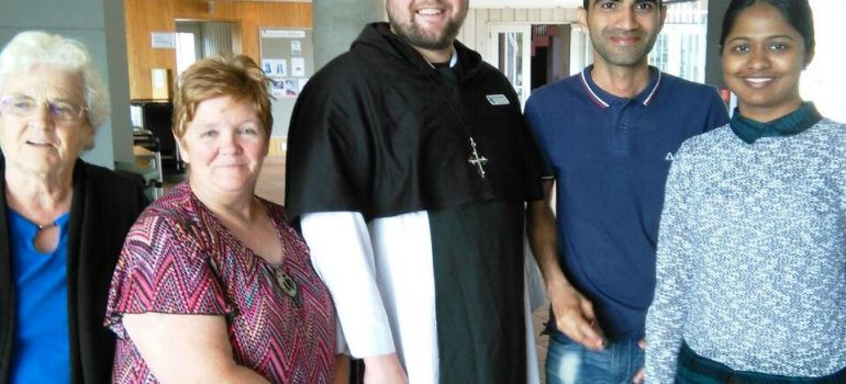 Anglican Dominican preaches in Auckland