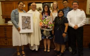 Farewelling Teresa McNamara from youth ministry