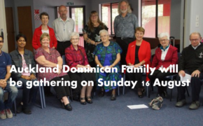 Auckland Dominican Family to gather on 16 Aug